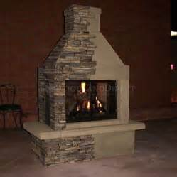 stone gas fireplace mirage stone 3 sided gas burning outdoor fireplace