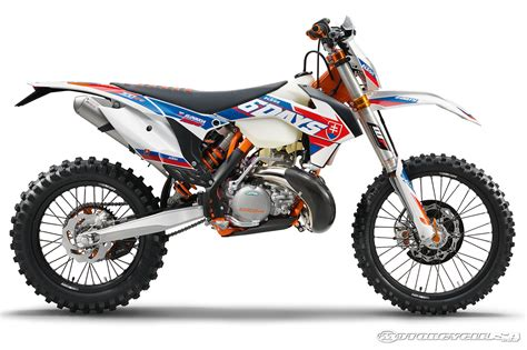 2016 ktm xc w models first looks motorcycle usa first look 2016 ktm six days edition off road bikes