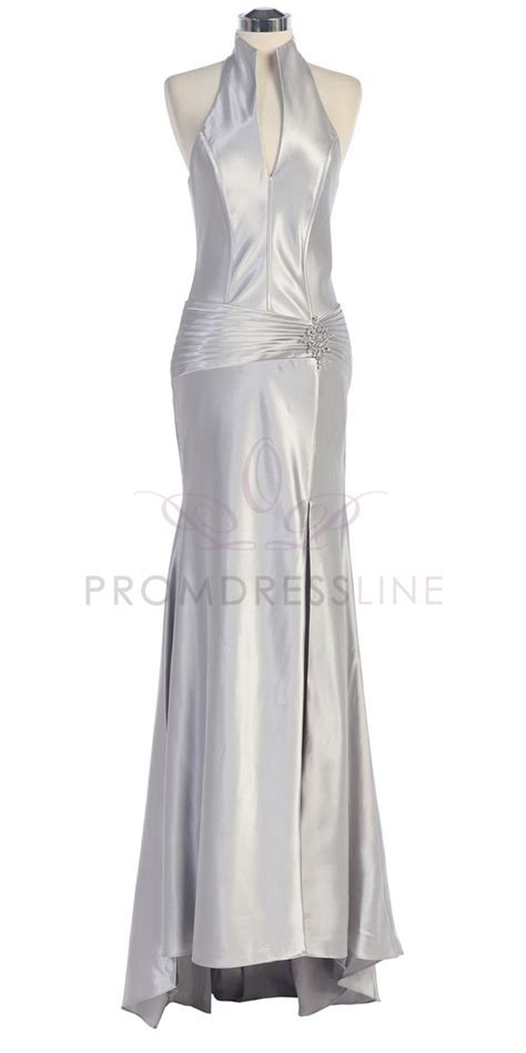 Silver Bridesmaid Dress by Bridesmaid Dresses Silver