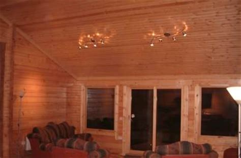 Cabin Ceiling by Log Cabin Ceilings What Works Well