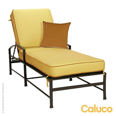 Caluco Patio Furniture San Single Chaise Caluco Patio Furniture Metropolitandecor