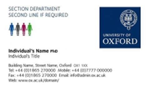 Do I List Undergrad After Mba by Business Cards Of Oxford