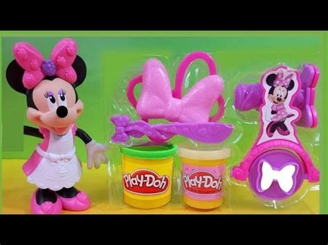 New Play Doh Minnie Mouse 2014 hasbro play doh minnie bowtique set make bows shoes