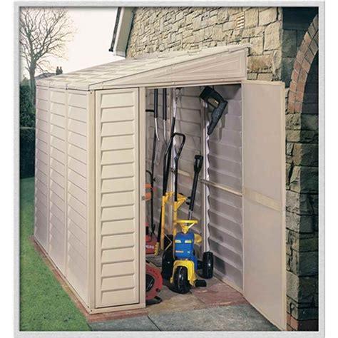 shedswarehouse madrid 4ft x 8ft duramax plastic