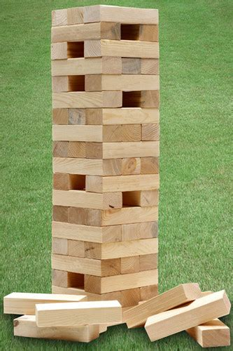 backyard jenga for sale garden party games giant jenga tower connect 4 in a row quoits dominoes boules ebay