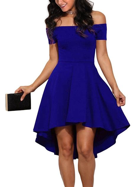 Asymmetric Shoulder Dress Size M L plus size your shoulder flared asymmetrical dress addicted2fashion