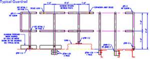 Handrail Support Spacing Osha Handrail Guardrail Specifications Cad Drawing