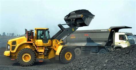 volvo lh wheel loaders maximize profitability  indian coal  contractor