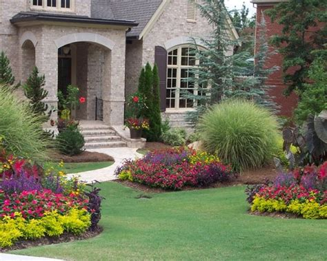 design house of flowers landscape plans for front of house landscaping