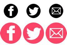 imagenes redes sociales png c 211 mo a 209 adir iconos sociales con efecto hover apuntes
