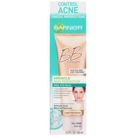 Anti Acne Large Skin Solution garnier skin renew light medium miracle skin perfector bb daily anti acne bb 2 fl oz