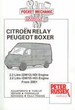 Peugeot Boxer Manual Peugeot Boxer Manual Ebay