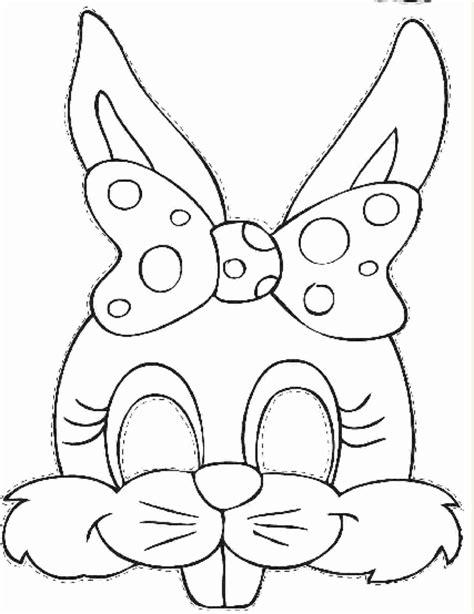 printable rabbit mask template samoga en casa bunny masks