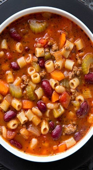 Olive Garden Pasta E Fagioli Soup Recipe by Copycat Olive Garden Pasta E Fagioli Soup Recipe Just As Delicious If Not More Than The