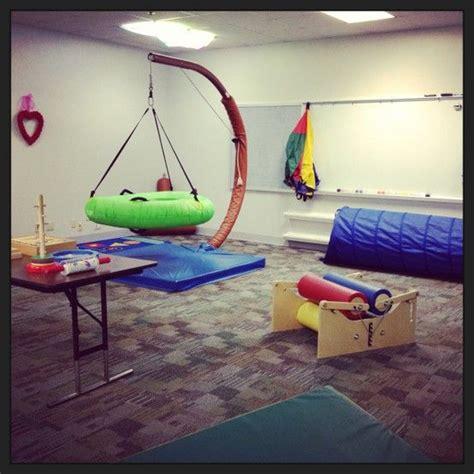 sensory swing a simple sensory gym ot websites pinterest swings