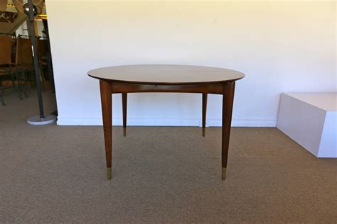 Dining Set By Gio Ponti For M Singer And Sons At 1stdibs Singer Dining Room Set