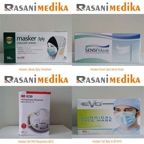 Harga Masker Muka Yang Bagus distributor masker medis di jakarta rasani medika