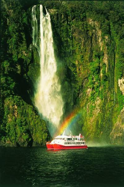 red boat milford sound milford sound red boat cruises new zealand tourist