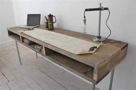 Scaffold Desk reclaimed scaffolding board industrial chic