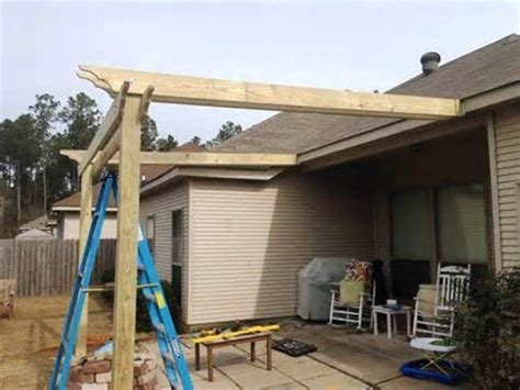 Pergola Attached To House Roof Pergola Gazebo Ideas How To Build A Pergola Roof