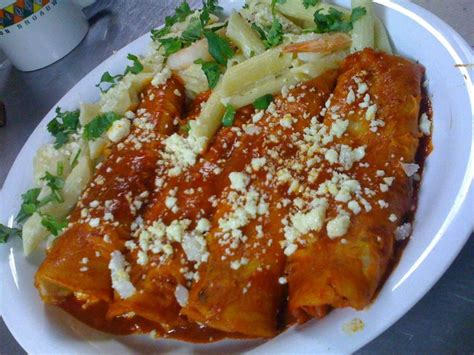 enchiladas rojas de queso enchiladas rojas red enchiladas food pinterest
