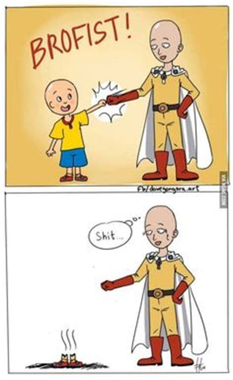 theme music lucky man caillou one punch and one punch man on pinterest