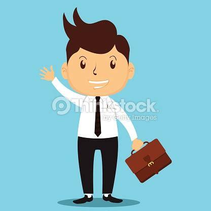 cartoon worker security vector art thinkstock cartoon business man go to work vector art thinkstock