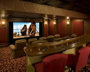 home theater room media rooms house rumah minimalis