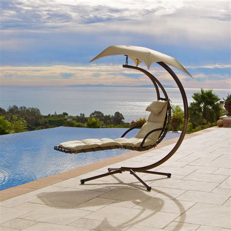 dream chair swinging chaise lounge dream chair contemporary outdoor chaise lounges salt