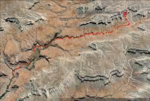 havasu falls arizona map on a hike hiking to havasu falls