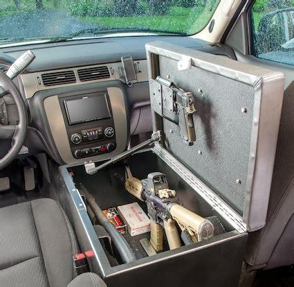 console gun bunker for auto | stashvault