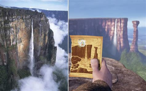 up film waterfall 8 real life locations that inspired disney places and one