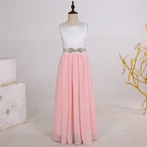 Flower Dress By Twinies Store wedding dresses pink eligent prom dresses