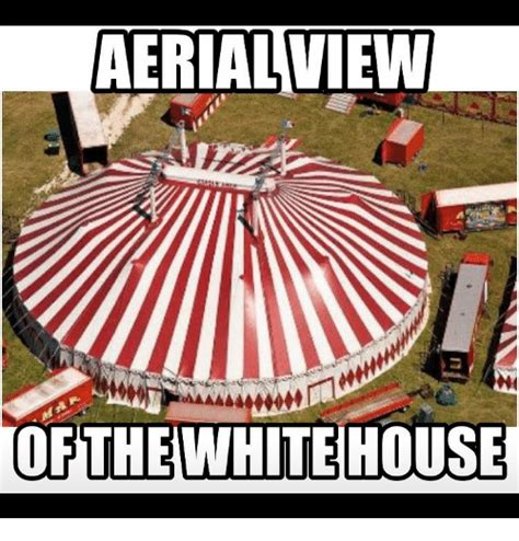 The View Meme - aerial view of the whitehouse meme on sizzle