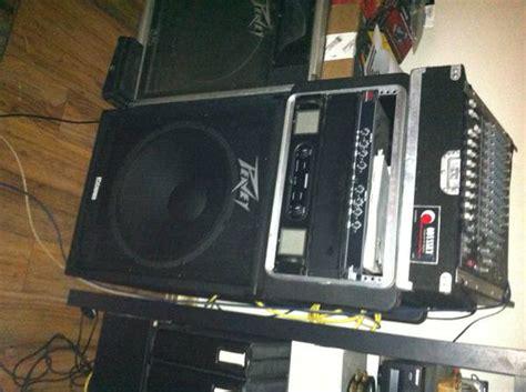 Mixer Black Widow peavey 1200 watt power for sale