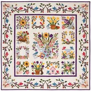 baltimore block of the month quilt kit product