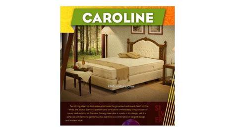 Ranjang Bed Central harga bed central silver sandaran caroline sale