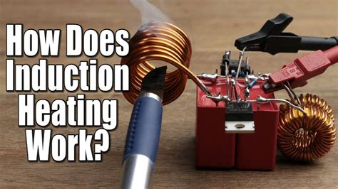 how inductor works in a circuit how does induction heating work diy induction heater circuit