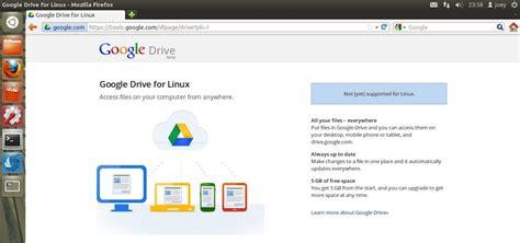 google design linux agora sim o google drive para linux est 225 a caminho