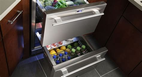 Pull Out Refrigerator Drawers by True Pull Out Fridge House