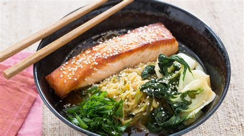 Salmon Menuan Ounce Of Prevention A Pound Of Cure by Restaurant Style Ramen With Salmon Recipe Is An Easy