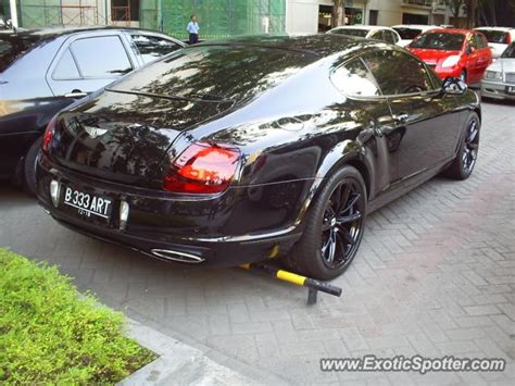 bentley jakarta bentley continental spotted in jakarta indonesia on 11 08