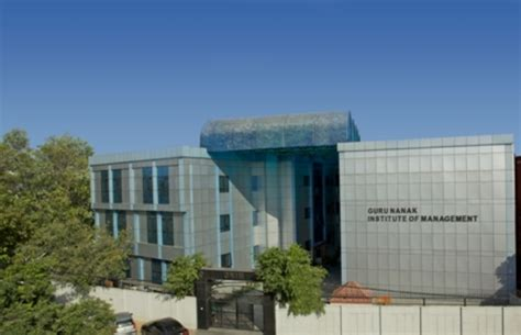 Mba Guru Delhi by Guru Nanak Institute Of Management Mba Colleges Delhi