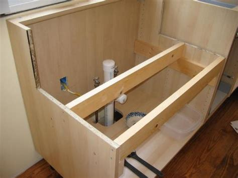 How To Build A Cabinet For Farmhouse Sink Mf Cabinets