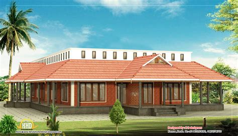kerala style single floor house 3205 sq ft kerala