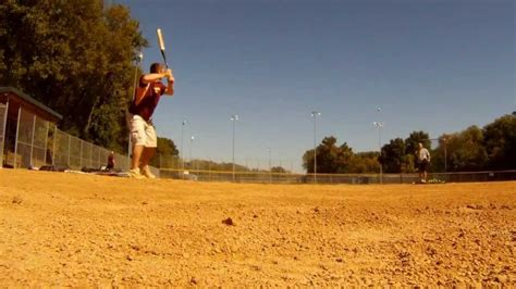 slow pitch softball homerun swing how to hit a slow pitch softball home run how it feels