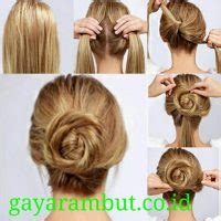 tutorial membuat rambut lurus 18 cara menata rambut lurus simple terbaru dan terkini