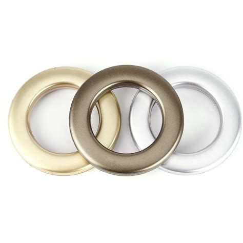 drapery ring set of 20 plastic snap drapery curtain eyelets heading