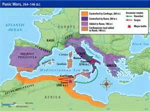 map of carthage punic wars 264 b c e to 146 b c e 171 mr burgess 6th grade