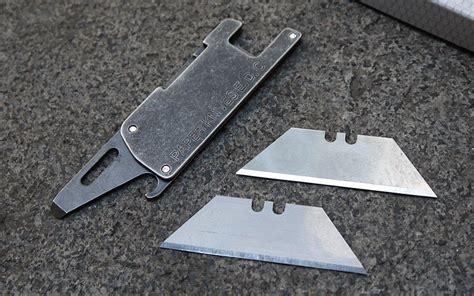 Pisau Berburu Alat Perlindungan Diri Edc Cing Knife sharp tad pisau silet multifungsi edc 4 in 1 silver jakartanotebook